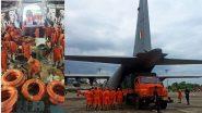 Floods in Maharashtra & Goa: पुणे, रत्नागिरी, गोवा मध्ये पूरग्रस्तांच्या मदतीसाठी नौदलाकडून अतिरिक्त C-17 Globemaster, Super Hercules तैनात