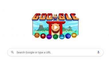 Tokyo Olympics 2020: यंदाच्या ऑलिंपिक गेम्स च्या सुरूवातीला गूगलने  डूडल चॅम्पियंस आयलंड गेम्स सुरू करत  दिल्या शुभेच्छा
