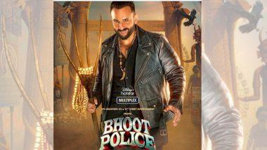 Saif Ali Khan च्या Bhoot Police चं पोस्टर रिलीज; Disney+ Hotstar VIP वर होणार रिलीज