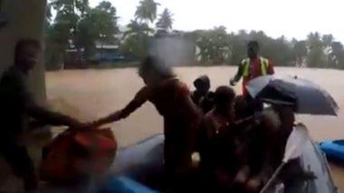 Raigad Flood: रायगड जिल्हयातल्या महड मध्ये पूरग्रस्तांचं रेस्क्यू टीम आणि हेलिकॉप्टरच्या सहाय्यानं बचावकार्य सुरु