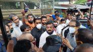 CM Uddhav Thackeray चिपळूण मध्ये दाखल; बाजारपेठेला भेट, व्यावसायिकांशी चर्चा