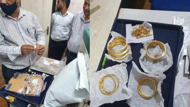 BIS च्या अंमलबजावणी पथकाने टाकलेल्या छाप्यात मुंबईतील अंधेरी पूर्व भागातून बनावट हॉलमार्क असलेले सोन्याचे दागिने जप्त