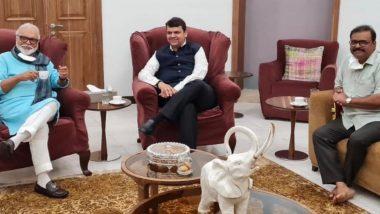 Chhagan Bhujabal-Devendra Fadnavis Meet: ओबीसी राजकीय आरक्षण प्रश्नी छगन भुजबळ यांनी आज घेतली देवेंद्र फडणवीसांची भेट