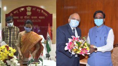 Modi Cabinet Reshuffle: डॉ. भारती पवार, रावसाहेब दानवे यांनी स्वीकारला मंत्री  म्हणून पदभार