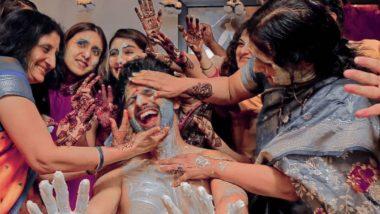 Rahul Vaidya-Disha Parmar Wedding: गायक राहुल वैद्य आज अडणार विवाहबंधनात; पहा त्याच्या हळदी समारंभातील काही क्षण