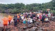 Satara: मुसळधार पावसामुळे मीरगाव येथे अडकलेल्या 221 जणांना वाचवण्यात NDRF ला यश