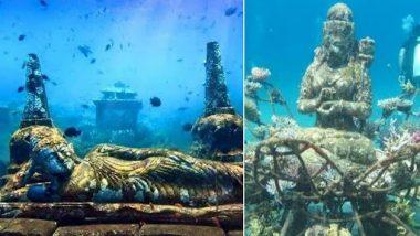 Fact Check: इंडोनेशियातील समुद्रात मिळाल्या 5 हजार वर्षांपूर्वीच्या हिंदू मूर्ती ? जाणून घ्या व्हायरल मेसेज मागील सत्य