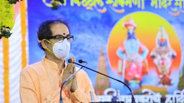 Aashadhi Ekadashi 2021 : माझ्या महाराष्ट्राला आरोग्य संपन्नता लाभू दे, मुख्यमंत्र्यांचे विठूराया चरणी साकडे