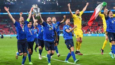 EURO 2020 Final: इंग्लंड संघाला 3-2 फरकाने पराभूत करत यूरो चषक 2020 वर इटलीने कोरले नाव