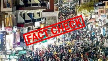 Fact Check: कोरोना संकट असतानाही मनालीत पर्यटकांची प्रचंड गर्दी? व्हायरल फोटोमागचे सत्य घ्या जाणून