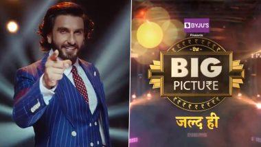 The Big Picture Promo: 'द बिग पिक्चर' द्वारे Ranveer Singh करणार टीव्हीवर डेब्यू; समोर आला शोचा हटके प्रोमो (Watch Video)