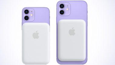iPhone 12 सिरीजसाठी Apple MagSafe Battery Pack भारतात लॉन्च; जाणून घ्या खासियत आणि किंमत