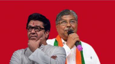 MNS अध्यक्ष राज ठाकरे महाराष्ट्रात एकहाती सत्ता आणू शकत नाहीत- चंद्रकांत पाटील