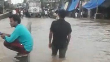 Mumbai Rains Updates: मुंबईत अनेक ठिकाणी पाणीच पाणी, रस्त्यांवर वाहतूक कोंडी, सीएसएमटी ते टिटवाळा रेल्वे वाहतूक सुरु