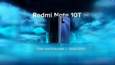 Redmi Note 10T 5G: रेडमी नोट 10 टी 5 जी आज होणार लाँच, पहा इथे कुठे पाहता येणार प्रक्षेपण सोहळा