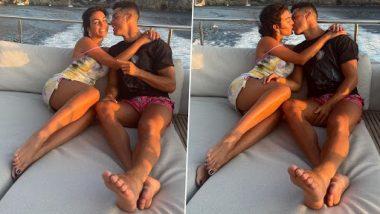 Cristiano Ronaldo आणि Georgina Rodriguez यांचा आलिशान Yatch वरील हॉट किसच्या फोटोसह व्हिडिओ व्हायरल