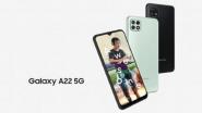 Samsung Galaxy A22 5G: सॅमसंगचा गॅलेक्सी ए 22 5 जी स्मार्टफोन लाँच, जाणुन घ्या फिचर्स