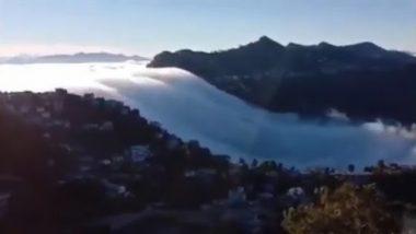 हर्ष गोयंका यांनी शेअर केला मिझोरमच्या Cloud Waterfall चा मंत्रमुग्ध करणारा व्हिडिओ (Watch Here)