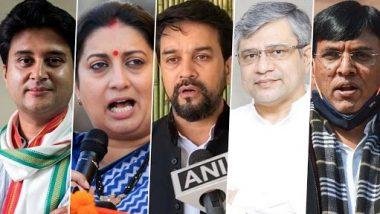 Modi Cabinet Expansion: नव्या मंत्र्यांसह खातेवाटप जाहीर; Narayan Rane झाले सूक्ष्म, लघु व मध्यम उद्योगमंत्री; जाणून घ्या कोणाला मिळाले कोणते मंत्रालय (See List)