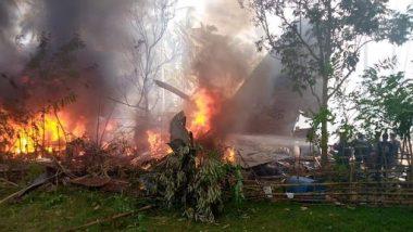Philippines Plane Crash Update: फिलीपिन्स विमान दुर्घटनेतील मृतांचा आकडा वाढला, आतापर्यंत 29 जवानांनी गमावले प्राण