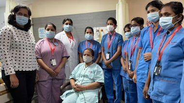 Kishori Pednekar: मुंबईच्या महापौर किशोरी पेडणेकर यांना ग्लोबल रुग्णालयातून डिस्चार्ज