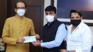 Maharashtra Floods: शिवसेना खासदार राहुल शेवाळे यांचा पूरग्रस्तांसाठी मदतीचा हात, एक महिन्याच्या वेतनाचा धनादेश मुख्यमंत्री सहाय्यता निधीत केला जमा