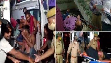 Uttar Pradesh Road Accident: भीषण अपघात! भरधाव ट्रकच्या धडकेत बसमधील 18 जण ठार, 19 जखमी