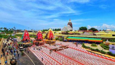 Jagannath Puri Rath Yatra 2021: केंद्रीय मंत्री धर्मेंद्र प्रधान यांनी ओडिशा येथील जगन्नाथ मंदिराचे फोटो केले शेअर