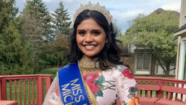Miss India USA 2021 : मिशिगनच्या 25 वर्षीय वैदही डोंगरेने जिंकला इंडिया यूएसए 2021 चा किताब