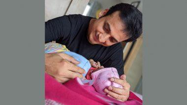 अभिनेता संकर्षण कऱ्हाडे च्या घरी जुळ्या बाळांचे आगमन