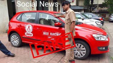 Fact Check: 'बेस्ट इलेक्ट्रिक टॅक्सी' सेवा सुरु होणार? BEST ने सांगितले सत्य