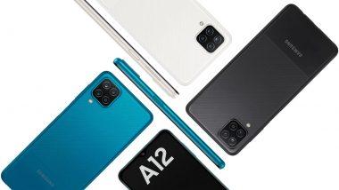 Exynos 850 Chipset सह Samsung Galaxy A12 स्मार्टफोन भारतात लॉन्च; जाणून घ्या किंमत