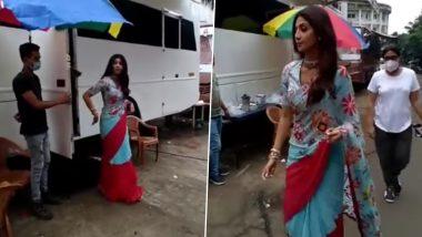 Super Dancer 4 शोमध्ये परतली शिल्पा शेट्टी; पहा व्हिडिओ