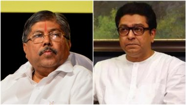 BJP-MNS Alliance: चंद्रकांत पाटील आणि राज ठाकरे यांच्यात आज भेट; राजकीय वर्तुळात मनसे-भाजप युतीच्या चर्चा