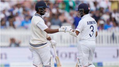 IND vs ENG 2nd Test Day 4: अजिंक्य रहाणे-चेतेश्वर पुजारा जोडीचा शतकी संघर्ष, दिवसाखेर भारताची इंग्लंडवर 154 धावांची आघाडी