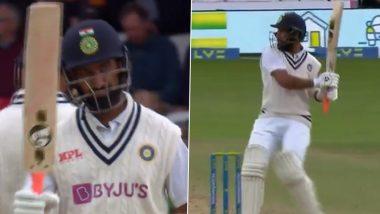IND vs ENG 3rd Test Day 3: वाह रे वाह! Cheteshwar Pujara ने 'हिटमॅन' स्टाईल शॉट खेळत ठोकले कारकिर्दीतील 30 वे अर्धशतक (Watch Video)