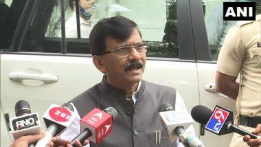 'महाराष्ट्र पश्चिम बंगाल होऊ देणार नाही' विधानावरुन शिवसेना नेते संजय राऊत यांची भाजपवर टीका