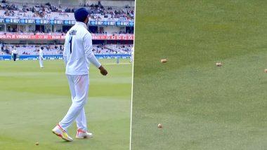 IND vs ENG 2nd Test: इंग्लिश चाहत्यांचे आक्षेपार्ह कृत्य! KL Rahul वर लॉर्ड्स स्टँडवरून फेकले बिअर कॉर्क, पाहा विराट कोहलीची प्रतिक्रिया