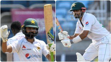WI vs PAK 2nd Test: बाबर आझम, फवाद आलमच्या नाबाद अर्धशतकाने पहिल्या दिवशी सांभाळली पाकिस्तानची नौका
