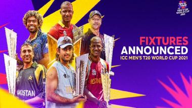 ICC T20 Worldcup 2021: ICC T20 वर्ल्डकपचे वेळापत्रक जाहीर, भारत विरूद्ध पाकिस्तान सामना होणार 24 ऑक्टोंबरला