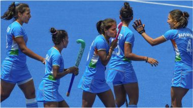 Tokyo Olympics 2020 Women's Hockey:हाफ टाइमनंतर भारत आणि आक्रमक अर्जेन्टिना महिला हॉकी सेमीफायनल सामना 1-1 च्या बरोबरीत