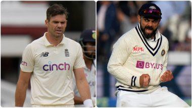 IND vs ENG 3rd Test: लीड्स कसोटीपूर्वी जेम्स अँडरसनने Virat Kohli याला दाखवला आरसा, यंदाच्या मालिकेतील 'या' गोष्टीची करून दिली आठवण