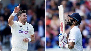 IND vs ENG 3rd Test Day 1: जेम्स अँडरसनच्या जाळ्यात पुन्हा अडकले चेतेश्वर पुजारा, Virat Kohli; इंग्लिश गोलंदाजाची अनोख्या रेकॉर्ड-बुकमध्ये एंट्री