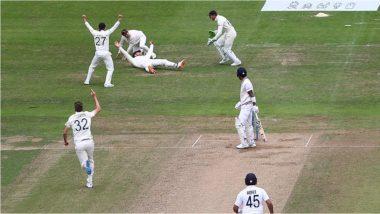 IND vs ENG 3rd Test: लॉर्ड्सचा शतकवीर KL Rahul लीड्सच्या दुसऱ्या डावातही फेल, जॉनी बेअरस्टोने स्लिपमध्ये पकडला जबरदस्त कॅच (Watch Video)