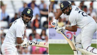 IND vs ENG 1st Test 2021: Rohit Sharma-KL Rahul यांच्या जोडीने केली 'ती' कमाल ज्याची फार कमी लोकांना होती अपेक्षा