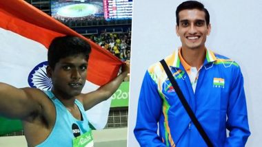 Tokyo Paralympics 2020: मरियप्पन थंगावेलूला उंच उडीत रौप्य पदक, शरद कुमारने पटकावले कांस्यपदक