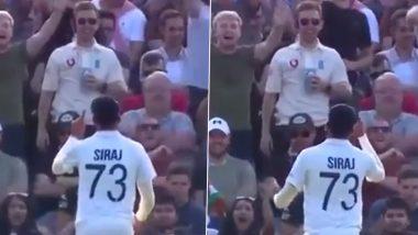IND vs ENG 3rd Test: लीड्स कसोटीत इंग्लंड प्रेक्षकांचा उर्मटपणा, टिंगल करणाऱ्या इंग्लिश चाहत्यांना Mohammed Siraj ने दिली अशी रिअक्शन (Watch Video)