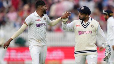 IND vs ENG 2nd Test Day 5: मोहम्मद सिराजचा इंग्लंडला दुहेरी दणका, मोईन अलीनंतरसॅम कुरनला धाडलं माघारी