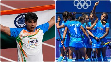 India At Tokyo Olympics 2020: टोकियोमध्ये टीम इंडियाने मोडला लंडन ऑलिम्पिक पदकांचा विक्रम; नीरज चोप्रा याच्यासह महिला खेळाडूंनी उमटवला ठसा