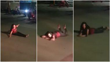 Drunk Girl Viral Video: उच्चशिक्षीत मद्यधुंद तरुणीचा टिळक रस्त्यावर धिंगाणा, पुणे येथील हिराबाग चौकातील घटना; व्हिडिओ व्हायरल
